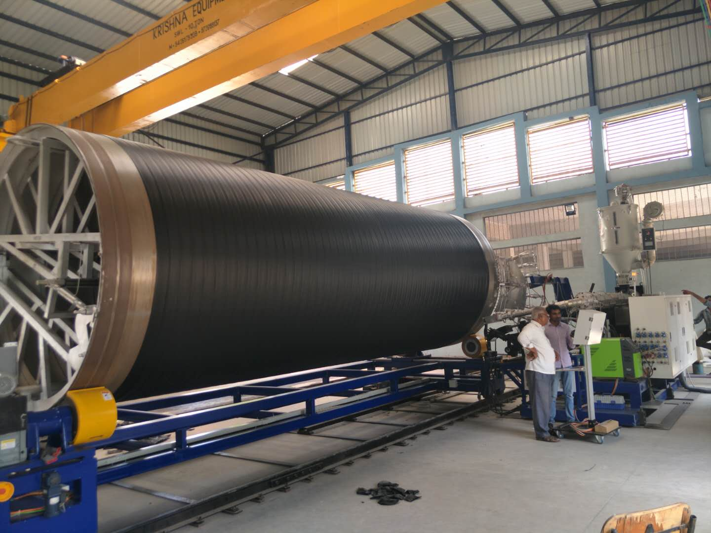 HDPE Spiral Wounded Tank Machine