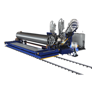 HDPE/PP Profile Pipe Machine