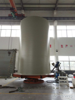 HDPE /PP Spiral Tank bottom Welding Machine